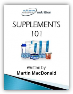 supplements 101 - Martin MacDonald