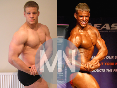 Body building nutrition before and after