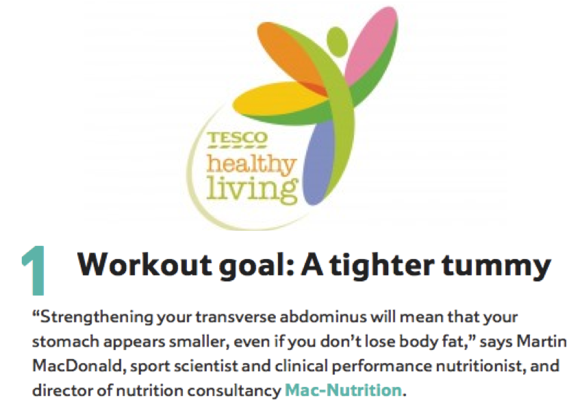 Mac-Nutrition team up with Tesco Healthy Living!