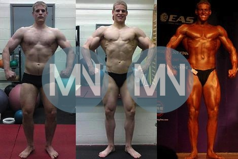 Bodybuilding before and afters nutrition